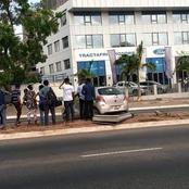 Four in critical condition as driver crashes on Airport Road, Accra