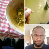 Man Narrates He Saw A Big Hook In The Food He Got From A Restaurant