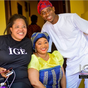 Lovely Photos of Lateef Adedimej with Toyin Abraham, Bimpe Oyebade And Other Nigerian Actors