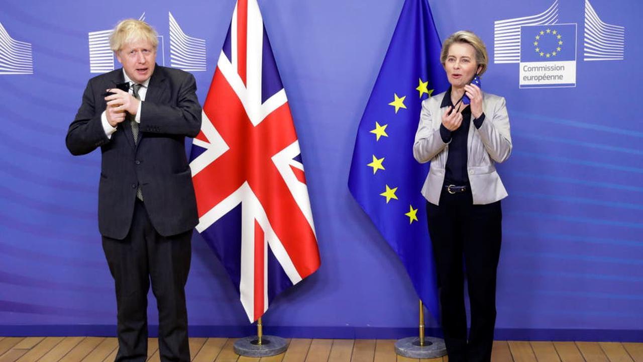EU governments approve post-Brexit trade deal