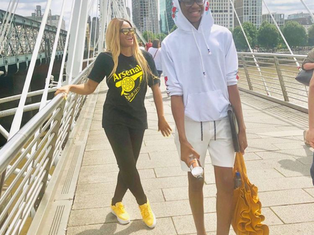 Kanu Nwankwo Must Be Proud Of How Well His Son Is Turning Out To Be