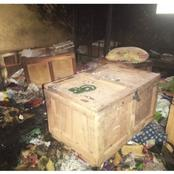 Fire Breaks Out In School Dormitory Affecting Students - See Details