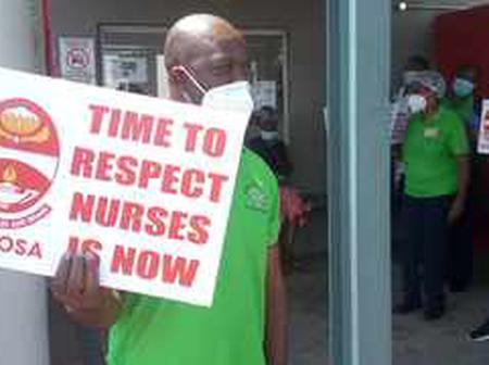 Limpopo health workers are on fire they are up for a strike.