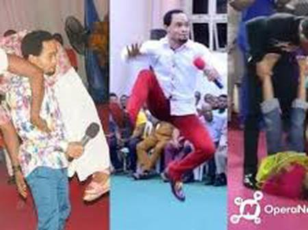 See The Various Smack-Down display of Pastor Odumeje