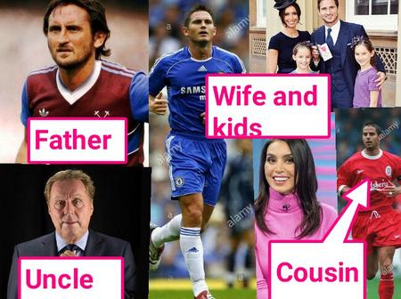 Meet Frank Lampard star-studded family