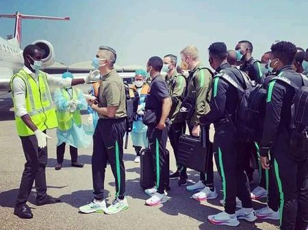Kaizer Chiefs as arrived back in south Africa