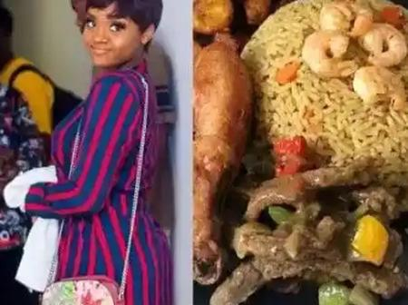 """Chioma Is """"The Chef"""" And """"A Thousand Yard Marriage Material"""", Check Out The Dishes Prepared By Her"""