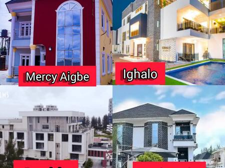 Top Nigerian Celebrities With The Most Beautiful Houses In Nigeria