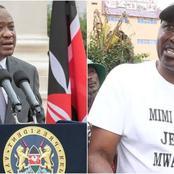 Kimani Ngunjiri Set Tough Conditions For President Uhuru Upon Which Hustlers Will Support BBI