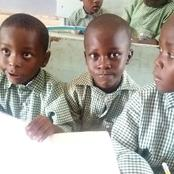 Checkout the only Governor who enrolled his child in a public school in Nigeria