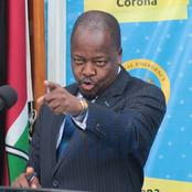 """We Have All Forgotten That Covid-19 Exists"" Health Cs Kagwe States After Fatalities Rise"