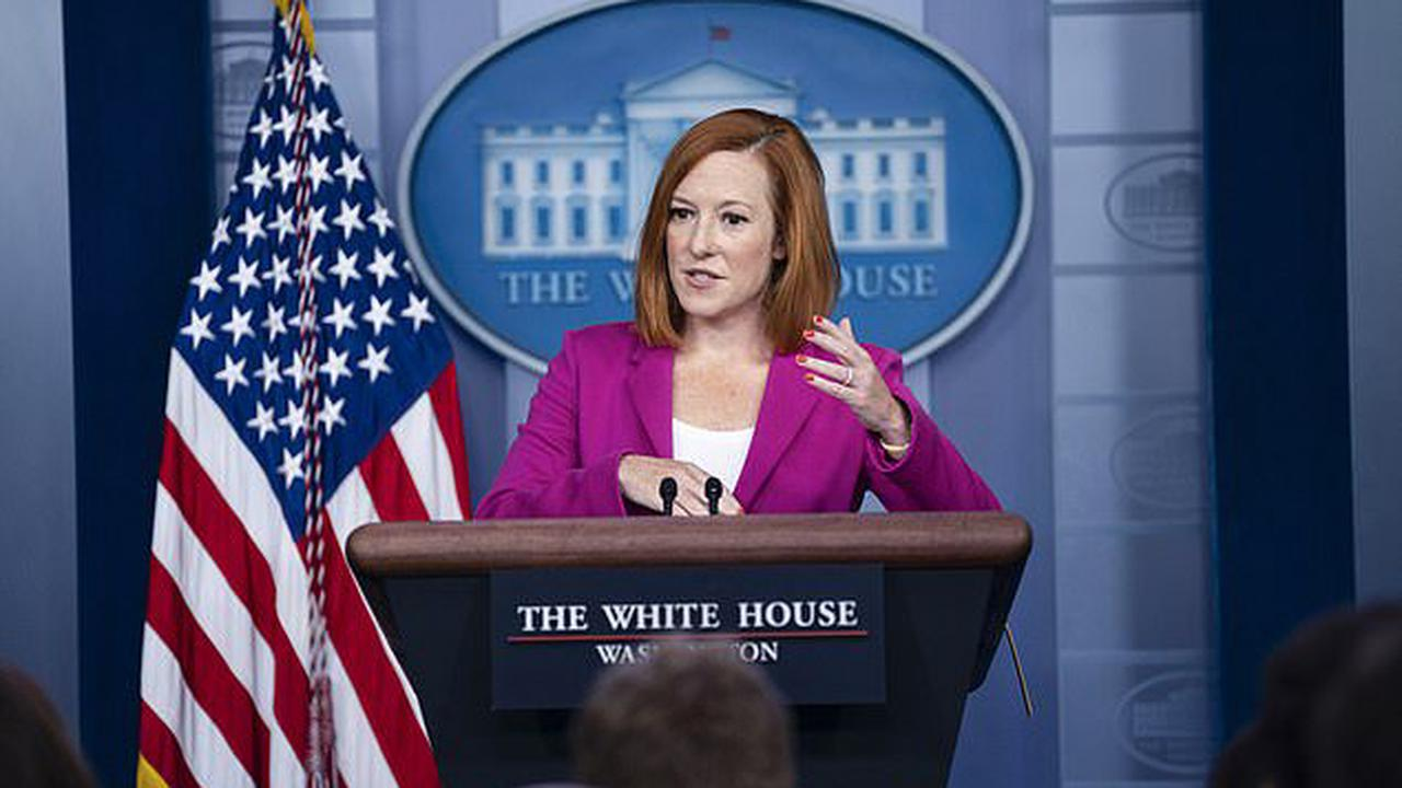'They have been litigated': Psaki brushes off reporter who asked if Biden should be subject to an investigation into old sexual harassment claims - just like Cuomo