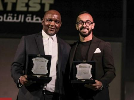 Egypt's best: Pitso reacts to prestigious award