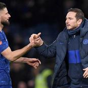Lampard open to Olivier Giroud staying