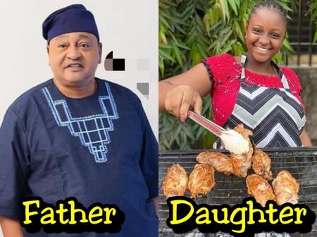 Meet The Beautiful Daughter of Jide Kosoko Who Is A Chef (Photos)