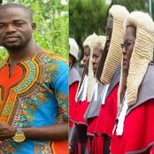 Judiciary, Your Power Is From The People and Not Your Wigs – Manasseh Azure Awuni Jabs Them.