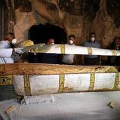 لغز «تابوت أثري» عثروا فيه على شيء يؤكد حدوث «ولادة بعد الموت»