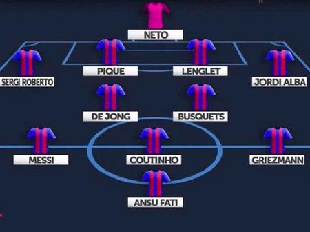 Opinion: Barca Will Be Ruthless & Score Multiple Goals Against Getafe If Koeman Uses This Lineup
