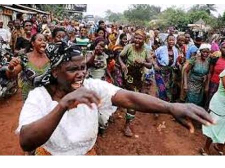 (Photos) Igbo women stand to challenge banditry and terrorism, See their next action