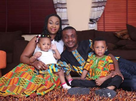 Check out 8 photos of Nathaniel Bassey, his wife and kids as they celebrate marriage anniversary
