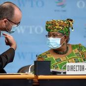 See Pictures As Okonjo Iweala Records Her First Day At Work In The New office.