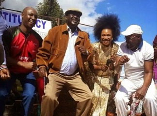 'We Were On Political Dryspell' Netizens Celebrate As Raila Odinga Finally Returns To Kenya