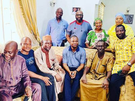 DCP Abba Kyari Reunites With His University Classmates In Maiduguri [PHOTOS]