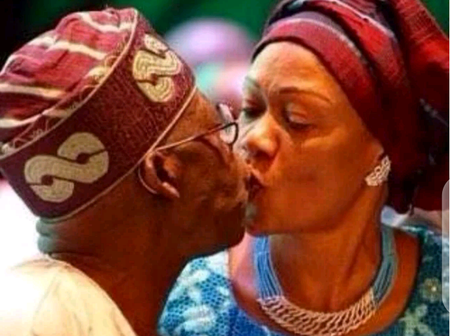 See Romantic Photos Of Tinubu And Other Top Politicians With Their Wives (Photos).