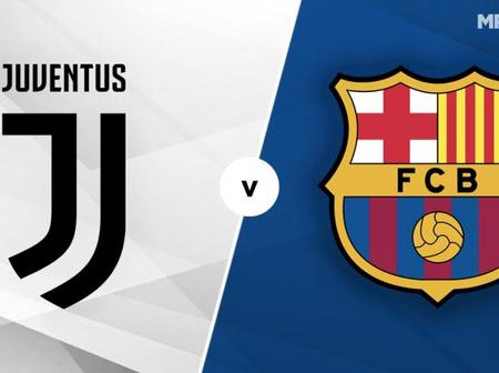 This might be the first time Barcelona win Juventus in their home if this happens
