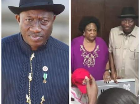 Check Out Some Photos Of Goodluck Jonathan, And Reactions From People As He Celebrated His Birthday.