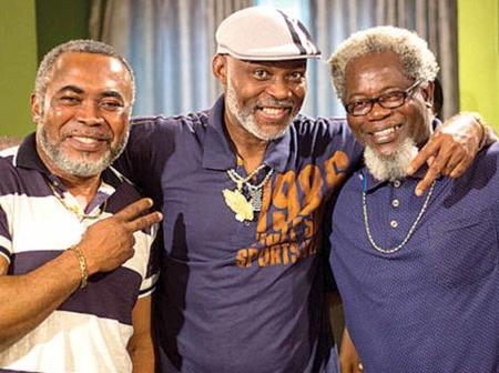 Check out the four veteran Nollywood wise men that rocks white beards