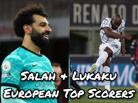 After Mohamed Salah & Lukaku Scored, This Is How The Golden Boot Table Looks Like