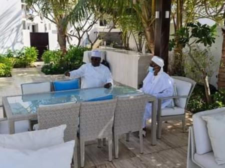 Atiku Hosts Lamido Of Adamawa At His Dubai Residence