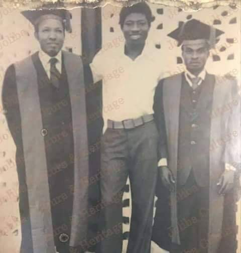 Rare Photos of Former President Goodluck Jonathan as an Undergraduate of in 1977 And as a Corper in 1982