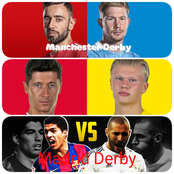 [DERBY WEEK] Man U vrs Man City, Atletico vrs Real Madrid, Bayern vrs Dortmund.