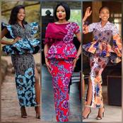 Trendy Ankara Skirt and Blouse Styles for you