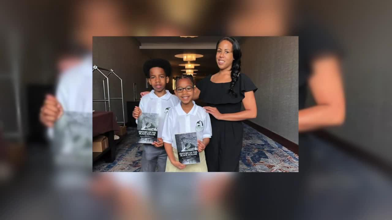 Brother and sister entrepreneurs create Stock Up Kids to teach others about stocks, finance