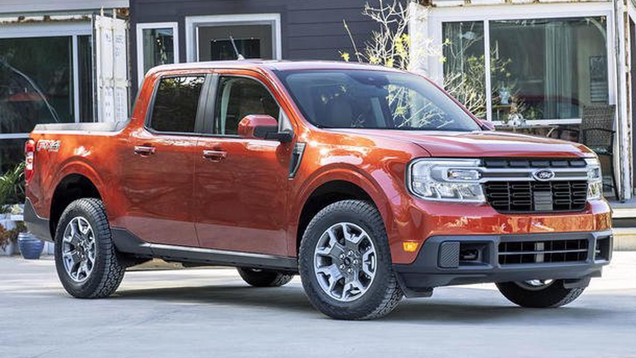 Ford Maverick (2021): XLT/Anhängelast/V6 Hybrid-Pick-up Maverick