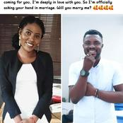 After This Man Proposed To A Lady On Facebook, See The Reactions He Got From People And Read Details