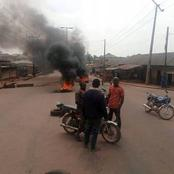 After herdsmen killed two farmers on their farmland, see what residents of that community did today