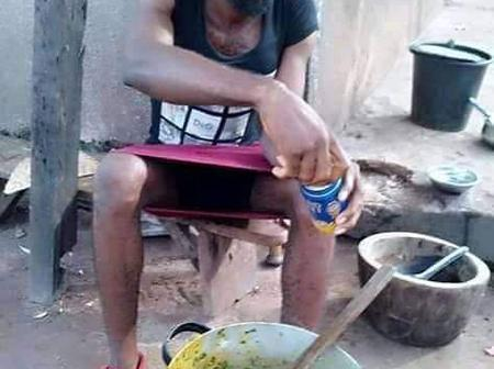 Husband material! See the photos of a 20-years-old boy he posted on Facebook that got many reactions