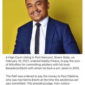 Nigerians hit back at Daddy freeze for criticizing Pastors after he was fined by the High Court
