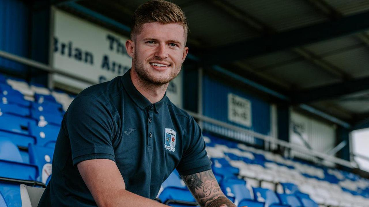 Ex-Blackburn Rovers player Joe Grayson signs for Barrow AFC