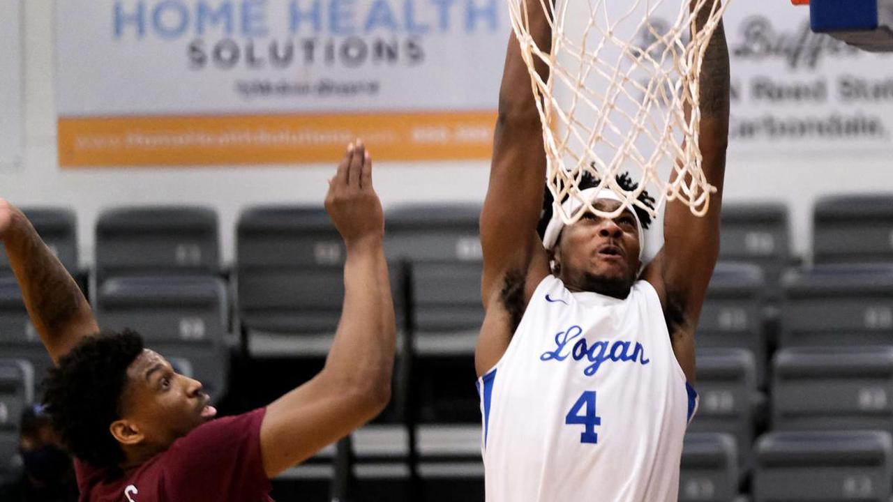 JALC Men's Basketball | McKinney's 18-point second half leads top-ranked Logan past Shawnee