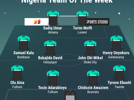 Nigerian Team Of The Week: Onyekuru, Mikel, Kalu, Umar