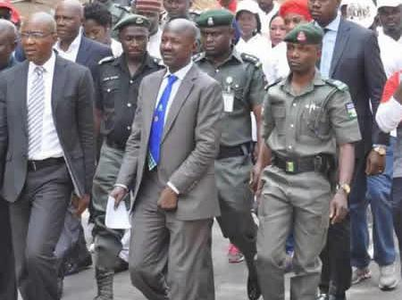 Salami-led committee wants policemen in EFCC sacked