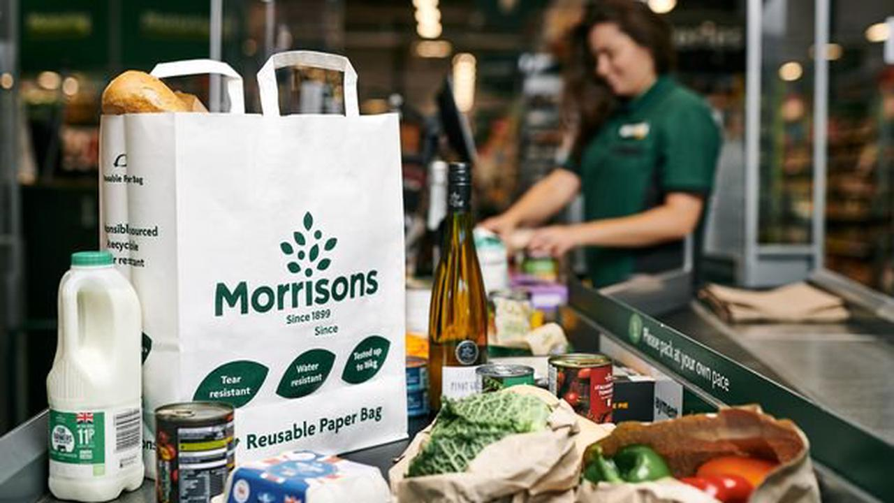 Morrisons announces complete ban on plastic bags