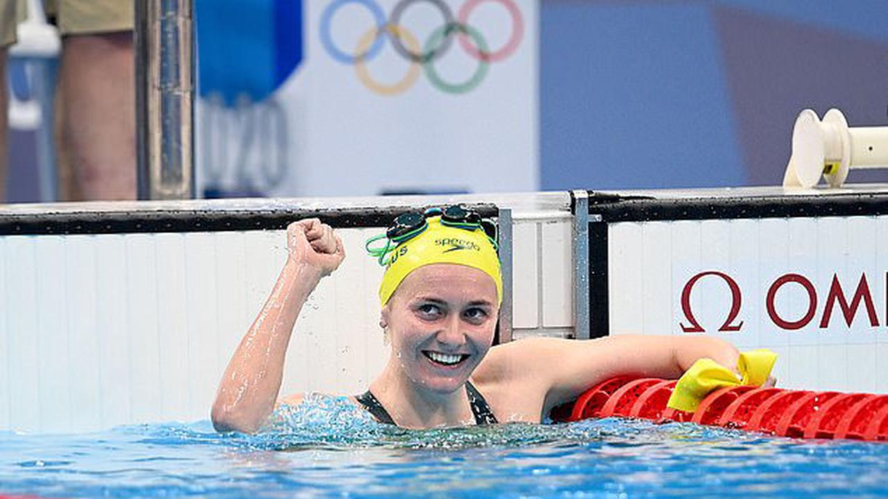 Aussie Olympic star Ariarne Titmus, 20, storms through 200m freestyle semis as she prepares to face off Katie Ledecky in hunt for second gold medal