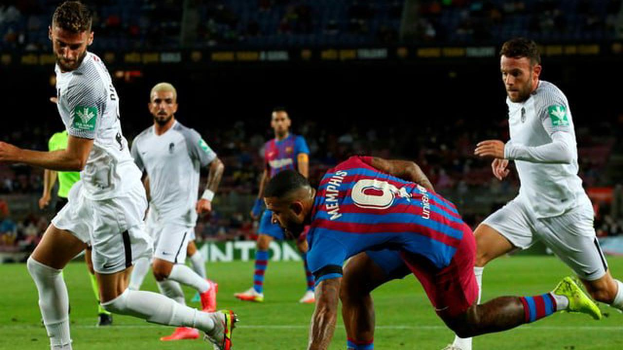 Fussball aus den Topligen - Barcelona stolpert wieder bei Granada – Napoli siegt souverän