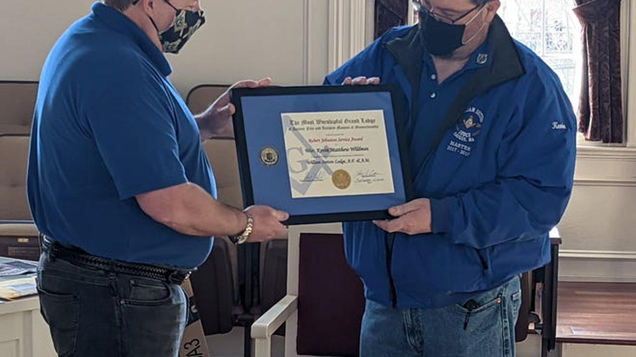 Mason Wildman honored with Robert Johnston Award